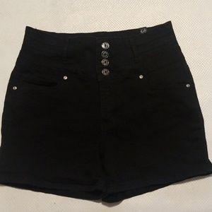 SLIVER CRUSH BLACK highwaist jeans size 11/12